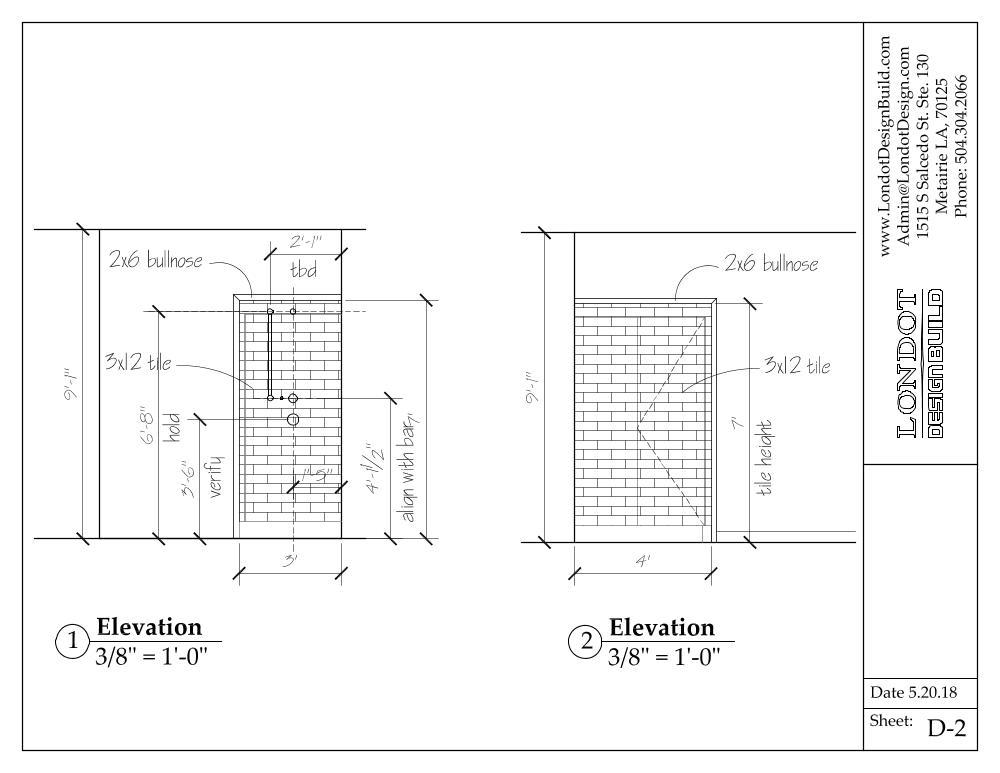 Londot Design Build CAD Drawing