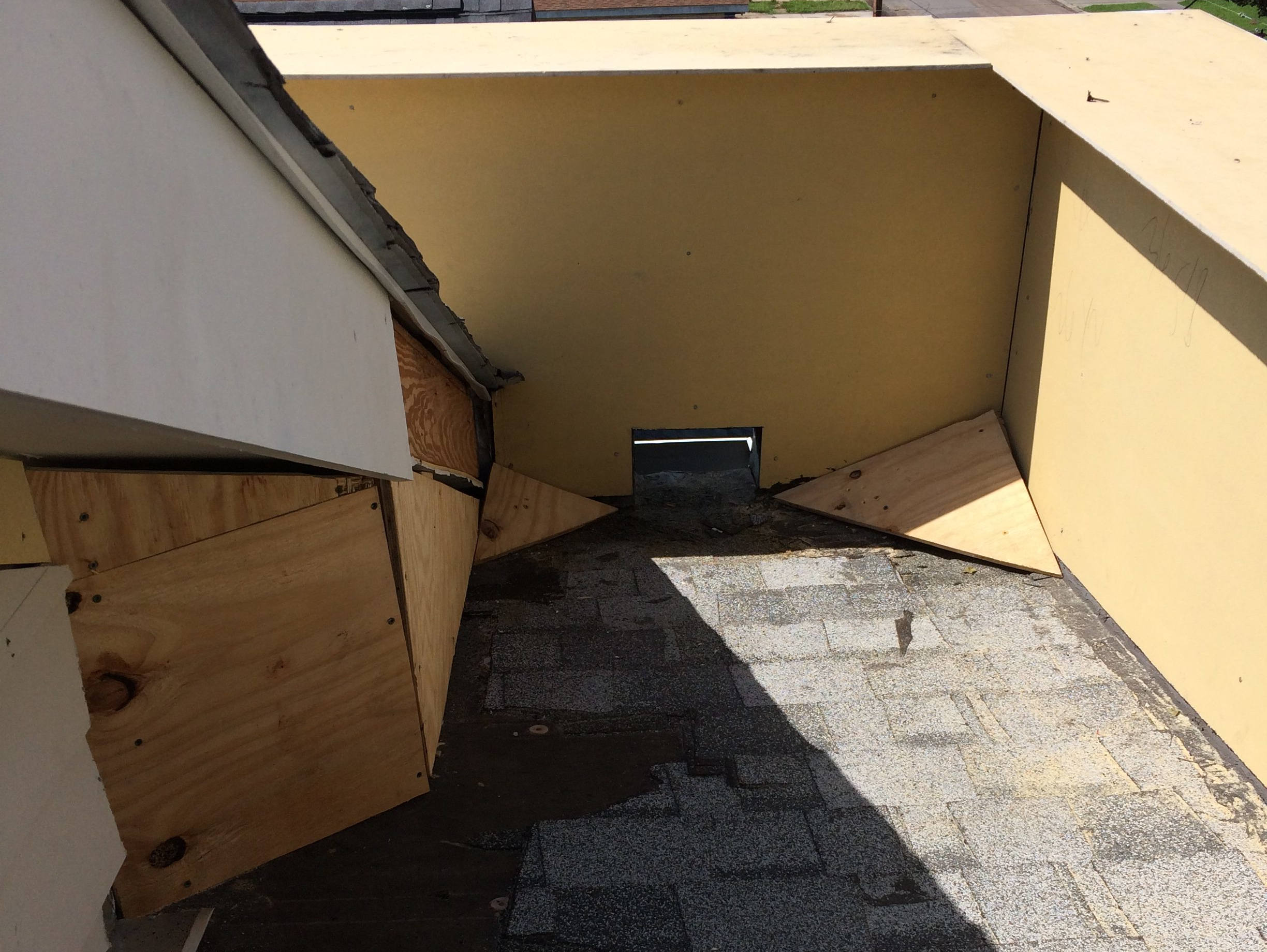 roof repair after water damage