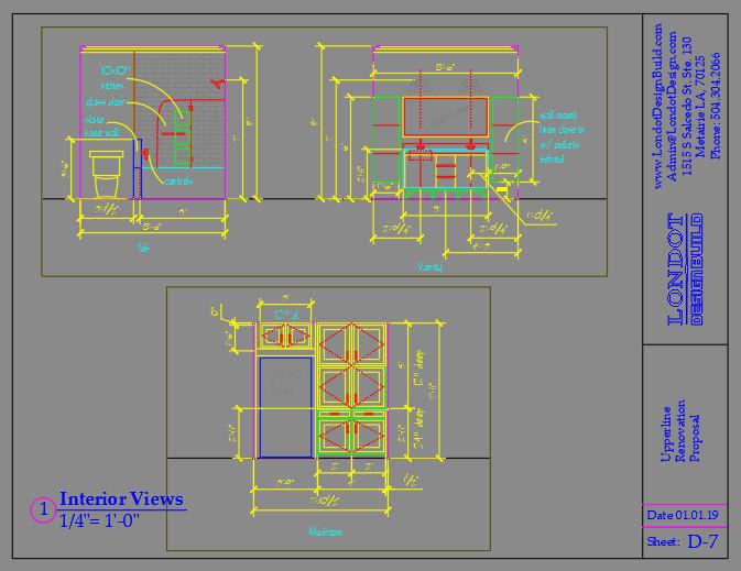 blueprint of home design